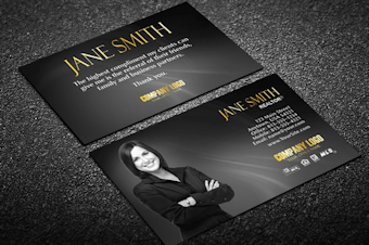 Real estate business cards free shipping unique real estate business card w agent reheart Images