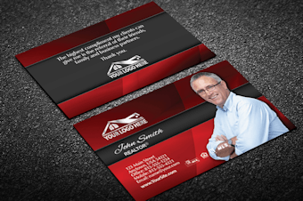 Real estate business cards free shipping professional real estate business colourmoves Images