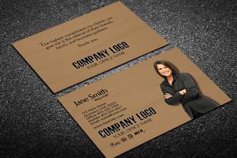 business card portrait