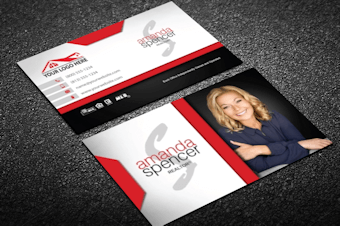 Real Estate Business Cards Free Shipping