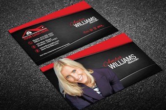 Real estate business cards free shipping modern classy real estate business reheart Gallery